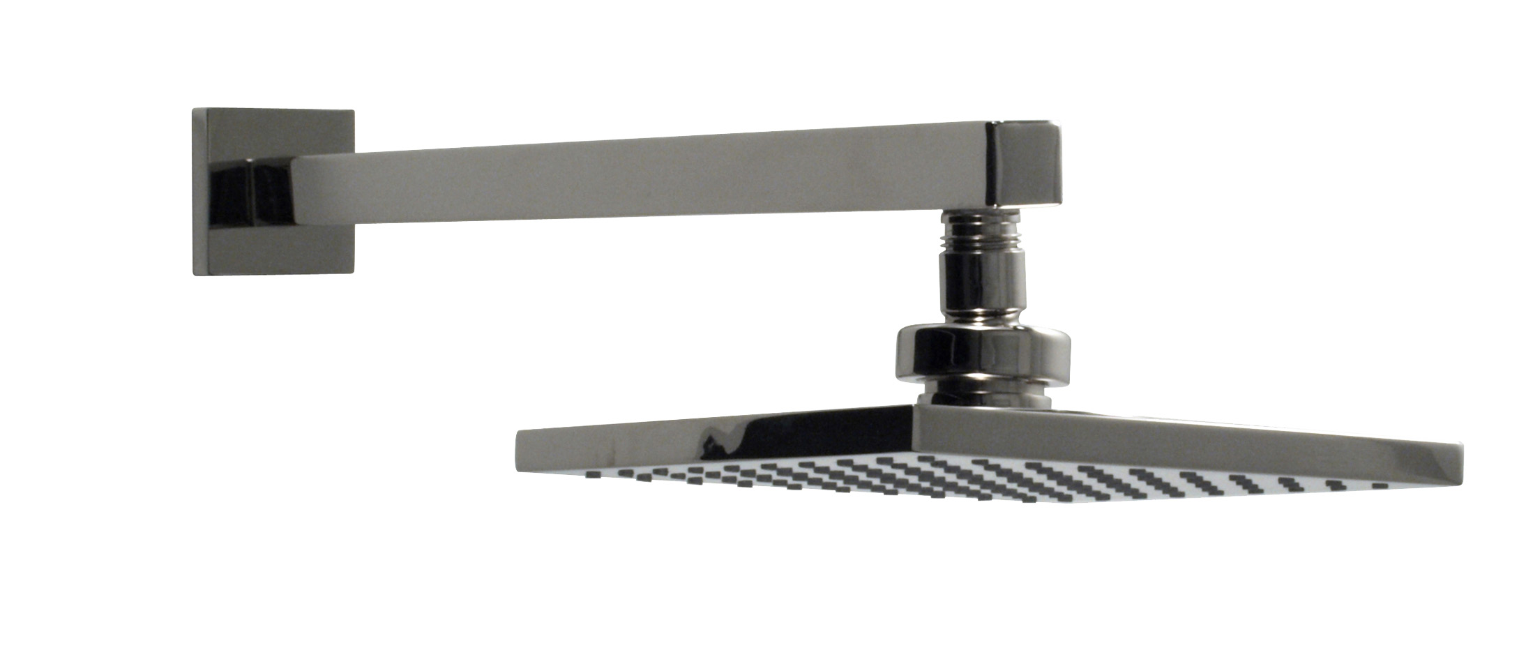 Square Rain head with Arm and Flange | Santec